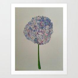 """Hydrangea"" Art Print"