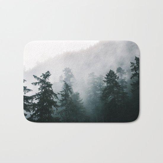 Forest Fog IX Bath Mat