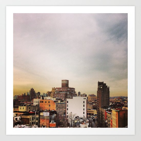 The View From 1219A Art Print