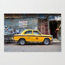 Taxi India Canvas Print