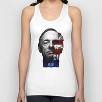house of cards Tank Tops featuring House of Cards by offbeatzombie