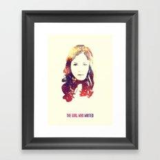 The Companion Framed Art Print