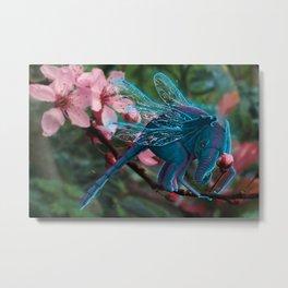 Ellie Dragonfly Chimera Metal Print