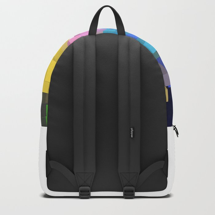 Colorful Skyscrapers Backpack