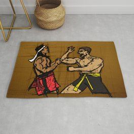 you fought with inspiration Rug