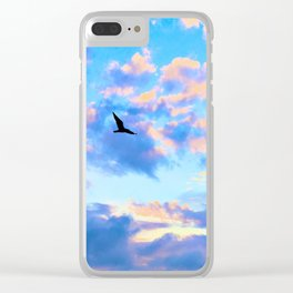 Flying High Clear iPhone Case