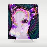 iggy azalea Shower Curtains featuring Iggy Lux  by KAndYSTaR