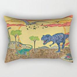 Prehistoric Rectangular Pillow