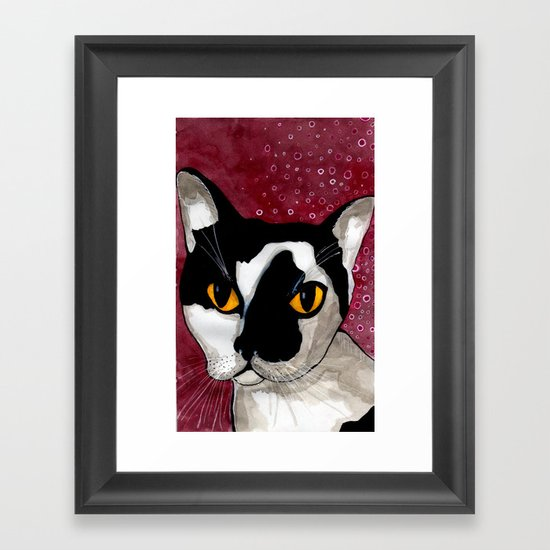 Lump Framed Art Print
