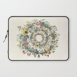 Circle of Life Cream Laptop Sleeve