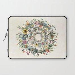 Circle of Life Cream Laptop Sleeve