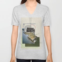 Are We Connected Unisex V-Neck