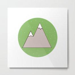 Green Mountain Metal Print