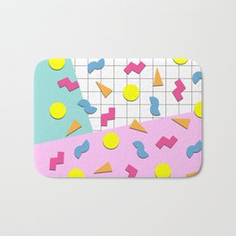 Back to the 80s Bath Mat