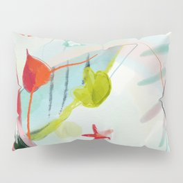 my summer garden Pillow Sham