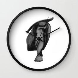 Patience: Figure Drawing Study Wall Clock