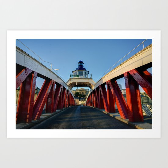 Low Level Bridge Art Print