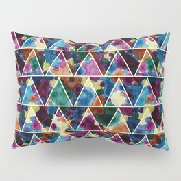 Bohemian Triangles Pillow Sham
