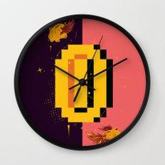 Money Problems Wall Clock
