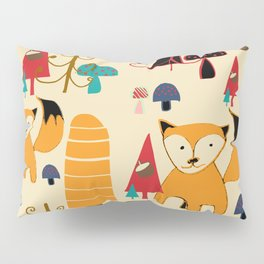 woodland fox Pillow Sham