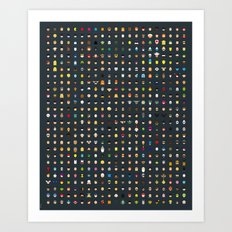 Famous Capsules - THE VERY BIG ONE Art Print