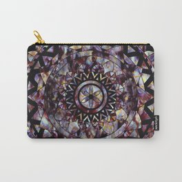 Baroque marble mandala Carry-All Pouch