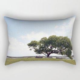 The tree at Exit 6 Rectangular Pillow