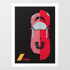 Drive - Tuned Art Print