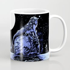 Mermaid Skull Mug