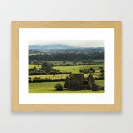 Castle Ruins Framed Art Print