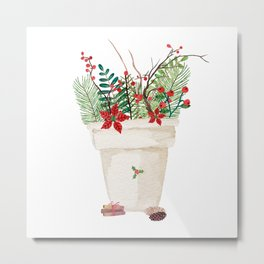 Winter Bouquet Metal Print