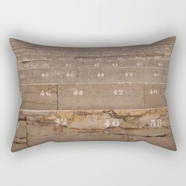 The Theater of Emperor Augustus Rectangular Pillow