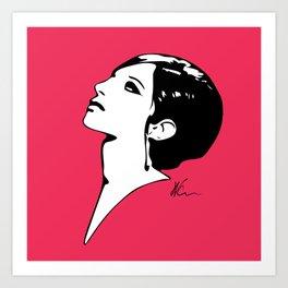 Barbra Streisand - Barbra - Pop Art Art Print