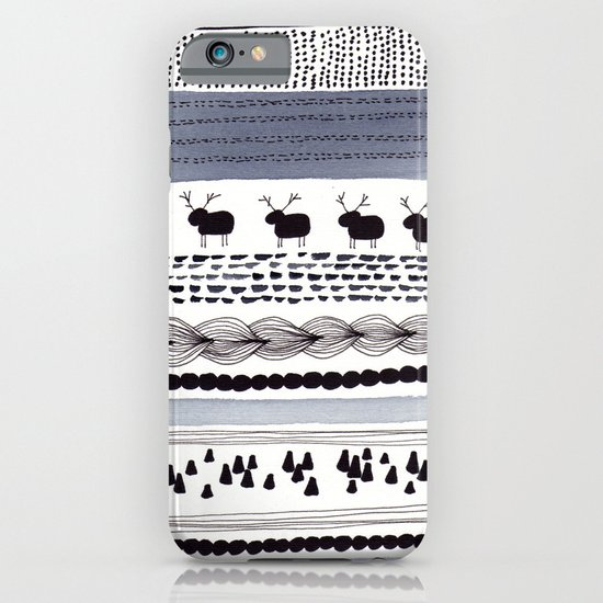 Pattern / Nr. 1 iPhone & iPod Case
