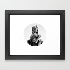 Virgin Mary Framed Art Print