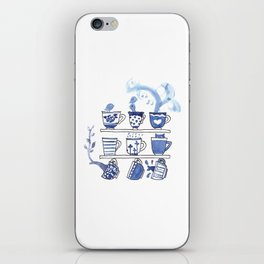 The Story of Tea iPhone Skin