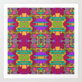 conglomeration Art Print