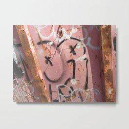 Graffiti wall 1 Metal Print