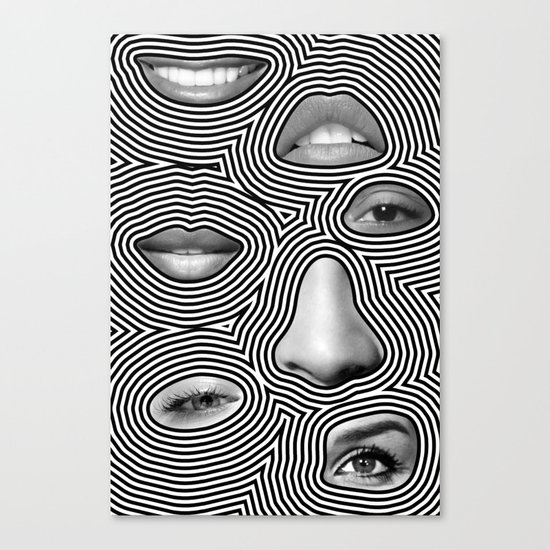 Silver Abuse Canvas Print