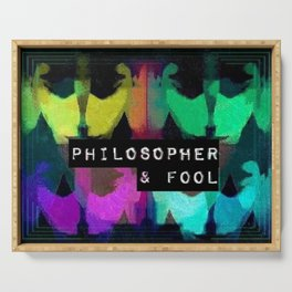 Philosopher & Fool - Butterfly Effect Serving Tray