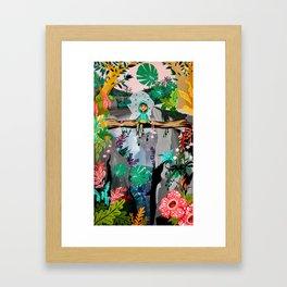 Itchy Paradise Framed Art Print