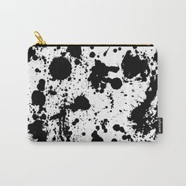 Ink spattered all over - Pattern #society6 #lifestyle Carry-All Pouch