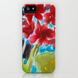 Grandiose Geraniums iPhone Case