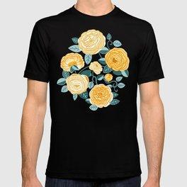 Climbing Rosa Vines - Yellow T-shirt