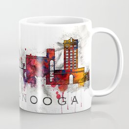 Chattanooga, TN watercolor Coffee Mug