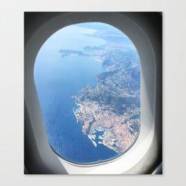 Monaco Skyview Canvas Print