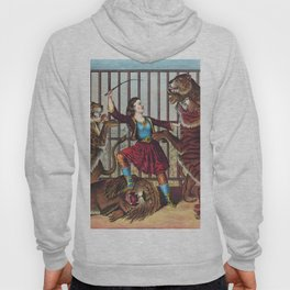The Lion Queen - Vintage Circus Art, 1873 Hoody
