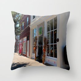 Downtown Perrysburg II Throw Pillow