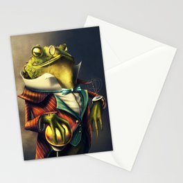 Country Club Collection #6: A Time Piece Fit For A Toad Stationery Cards