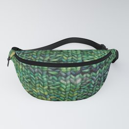 Knitted Basketweave Fanny Pack